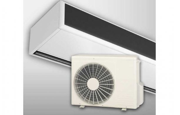 2012.06 Heat Pump Energy Saving Air Curtains Heating and Cooling For Outdoor Units