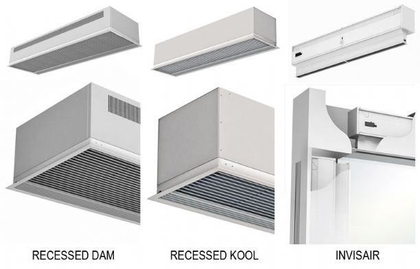 2013.06 We widen the range for recessed air curtains